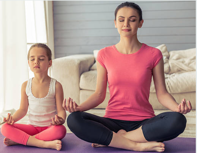 YOGA – A WAY TO FEEL GOOD - Yoga means personal well-being, reaching one's potential. One way to find an inner calm and overcome stress and worry. This happiness is within us, Something too that children can realise.