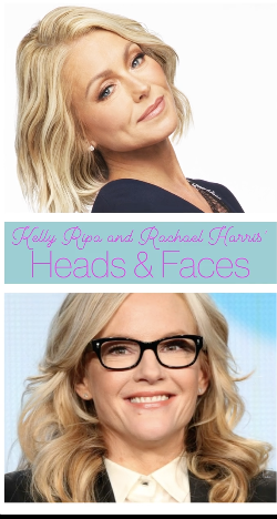 Kelly Ripa and Rachael Harris' Heads and Faces (Facebook Watch)