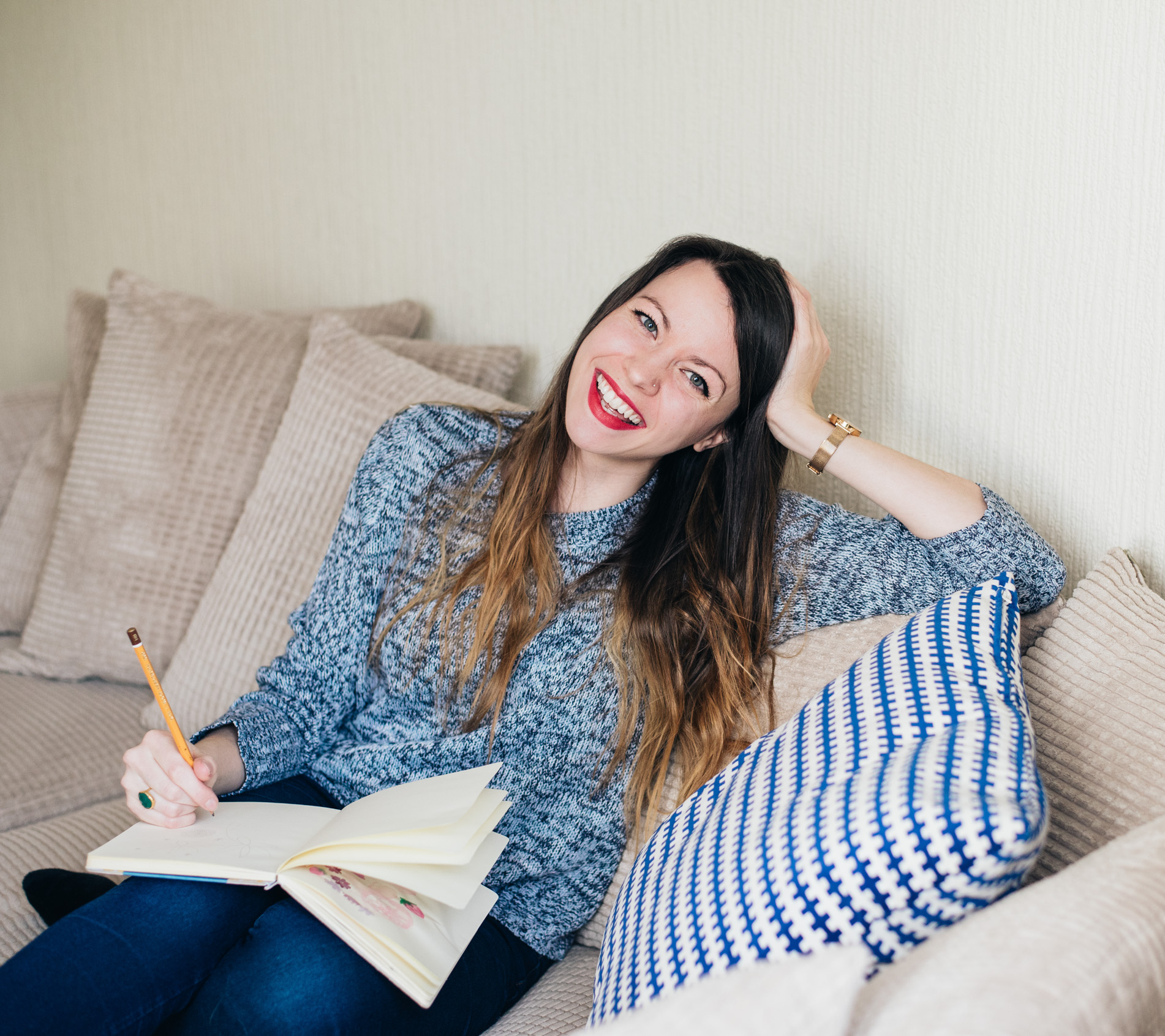Life Coach and Illustrator, Emma Lou