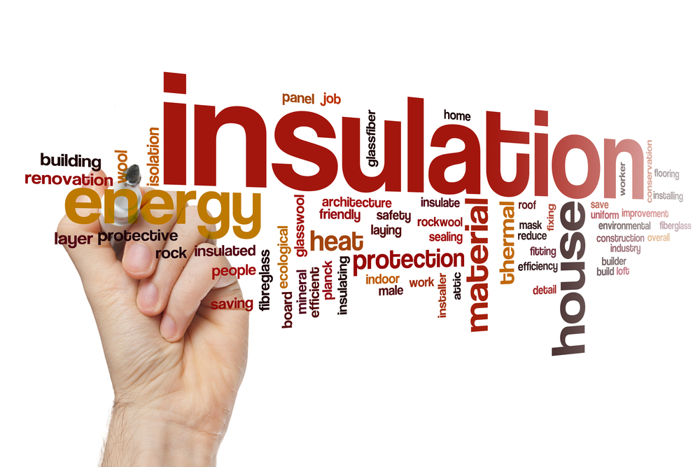 Insulation for residential homes and energy efficiency