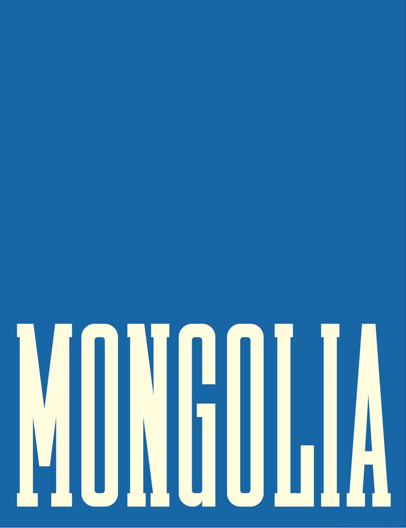 Frederic Lagrange: Mongolia