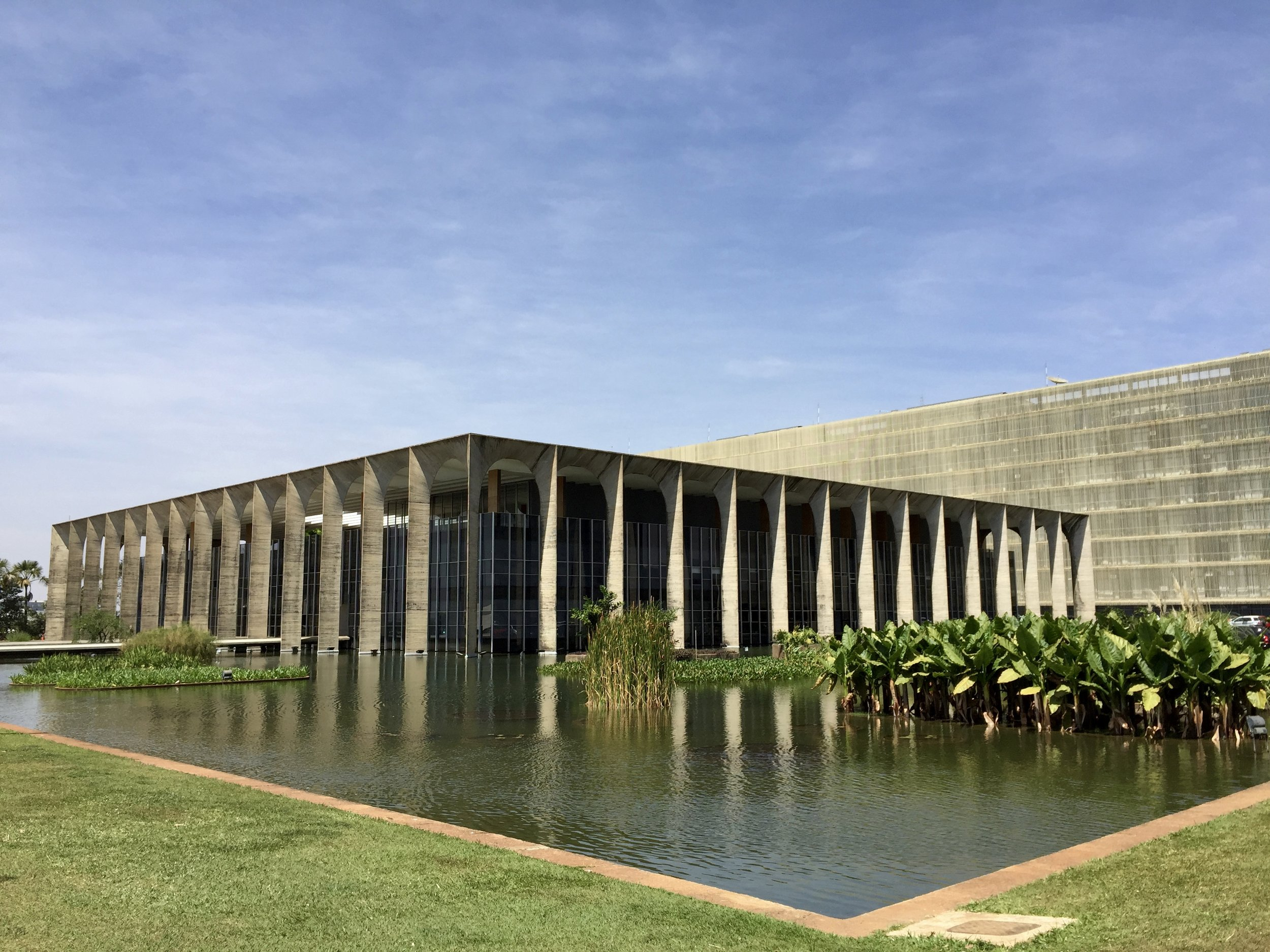 Itamaraty Palace (Ministry of Foreign Affairs, Brazil), design by Oscar Niemeyer