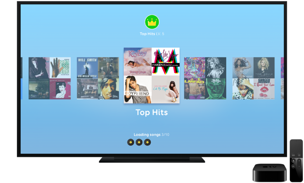 Thousands of Songs - Listen to real music and guess songs and artists. Level up your favorite music categories and unlock hundreds of playlists!