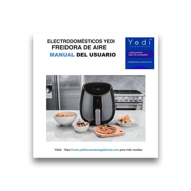 Spanish Air Fryer Manual (2019 Model)