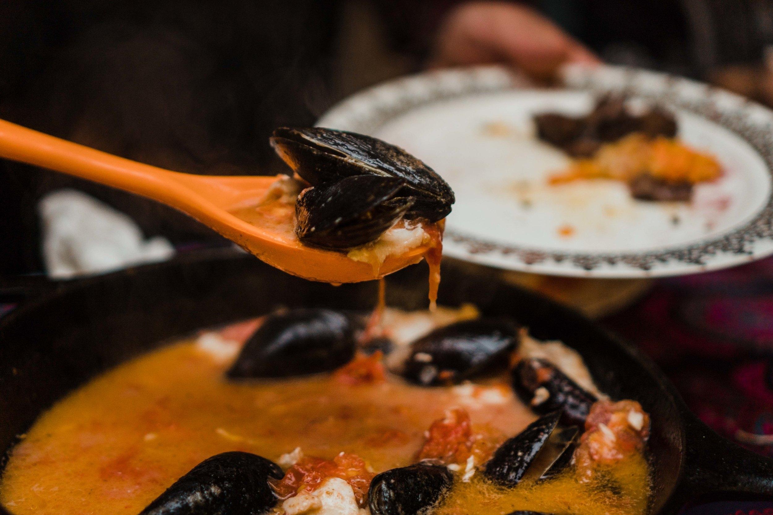 Fort Peck Walleye + Mussels