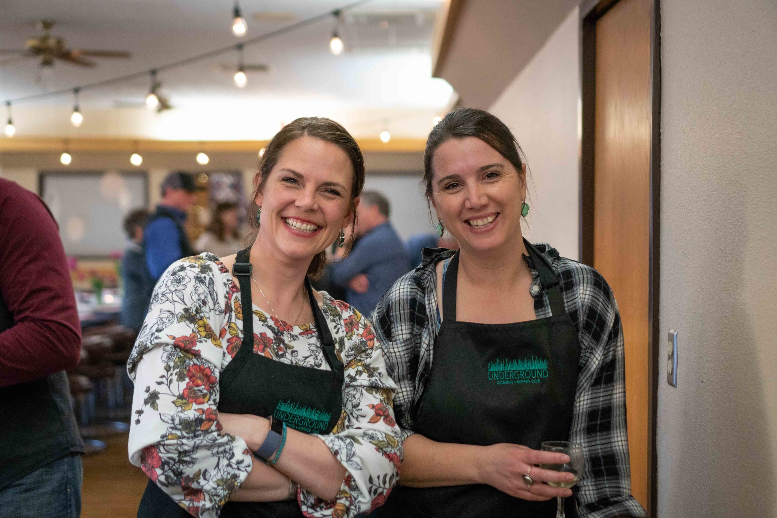 - Our friendship grew out of an obsession with food. From tastes and flavors, to science and cooking, we can't get enough on the topic of food. We want to offer our skills and help you taste the world.Ashley + Adrienne