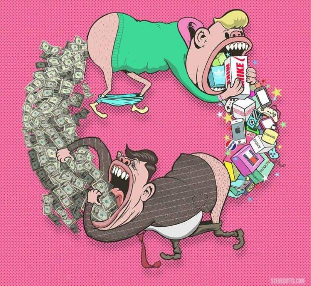 Steve Cutts Food and Money.jpg