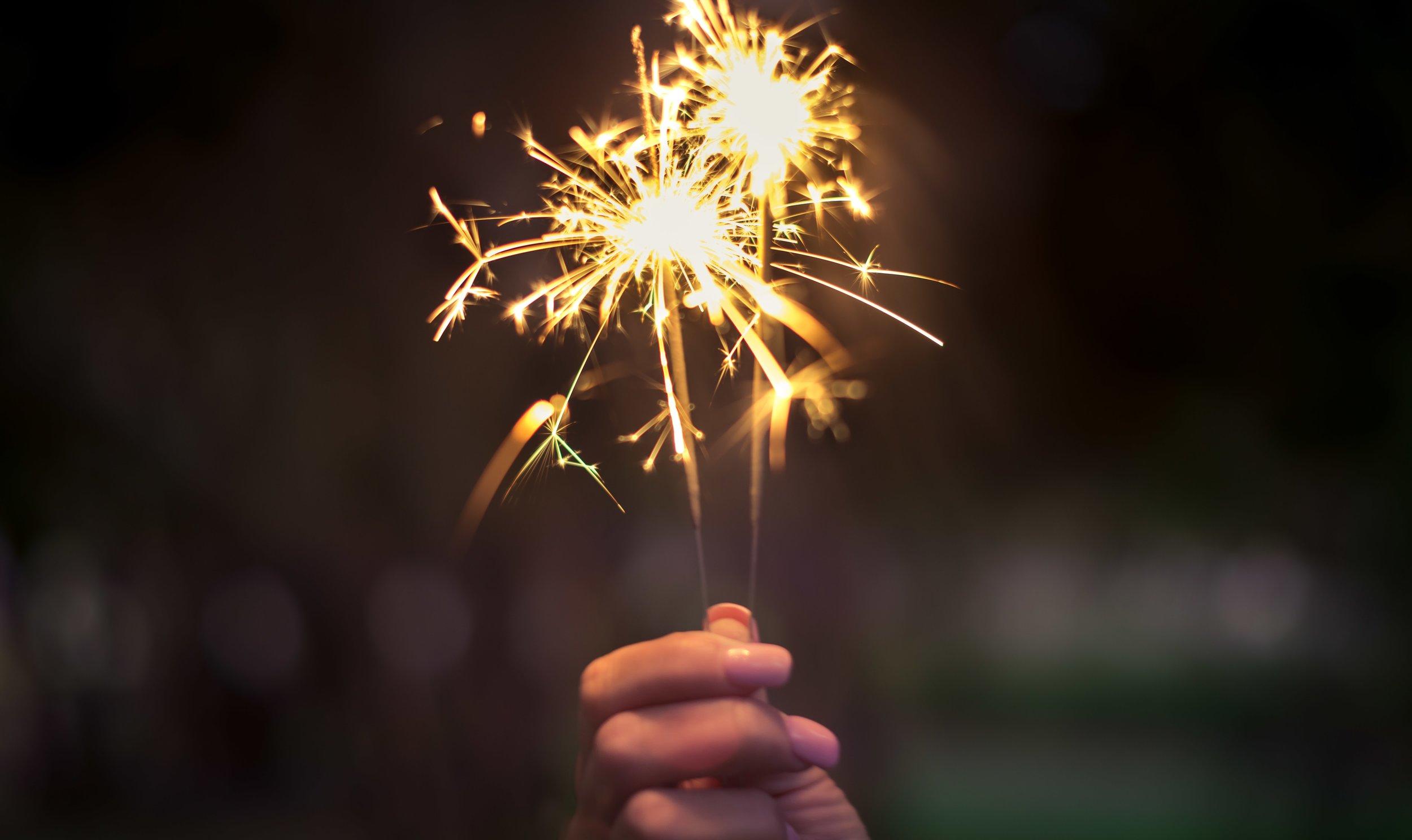 Radiant Life Guide Shae Sterrett Fireworks