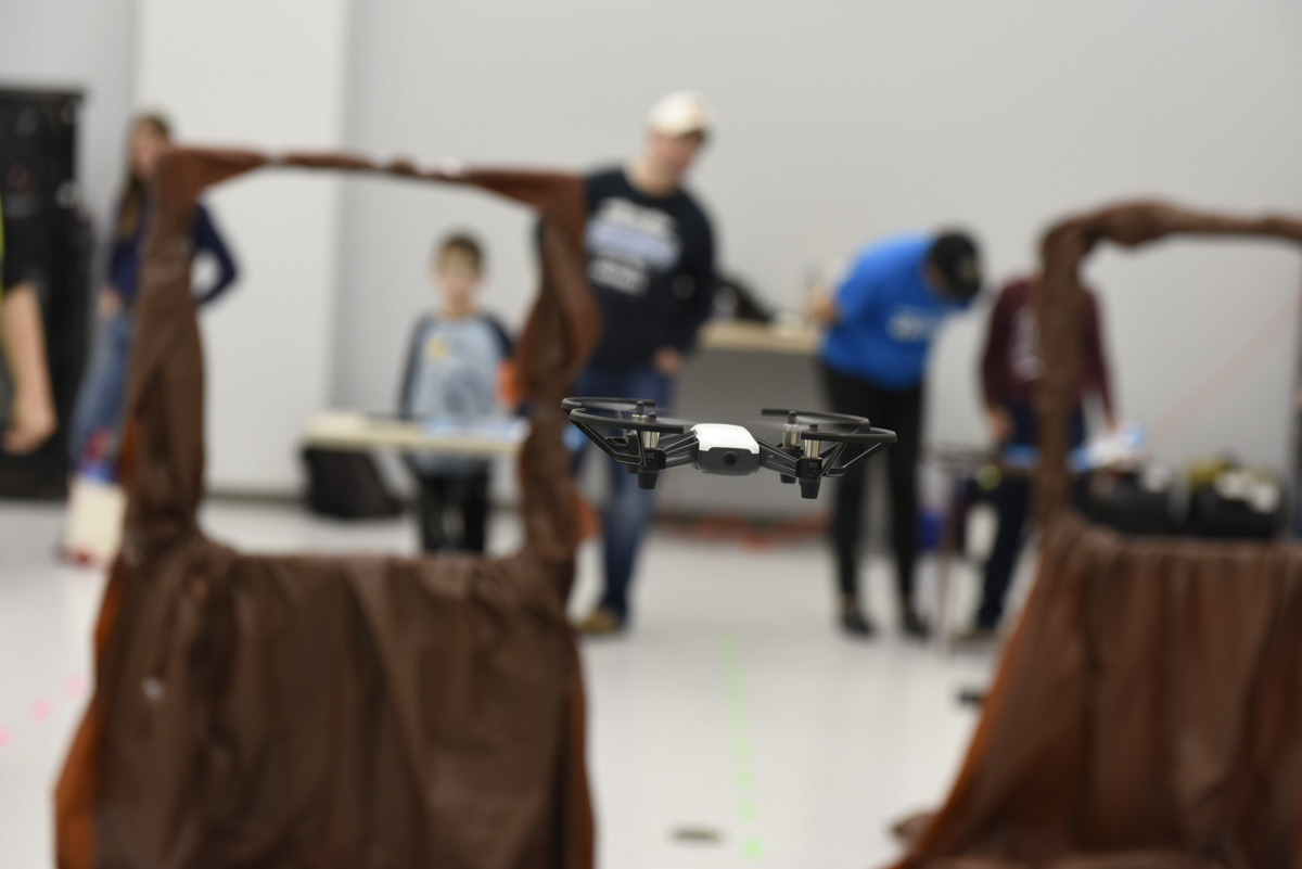 Program and fly drones