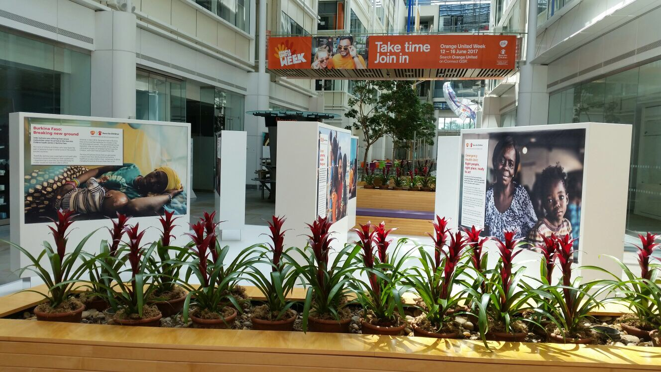 GSK Headquarters Display