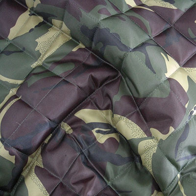 Camouflage Quilted Waterproof