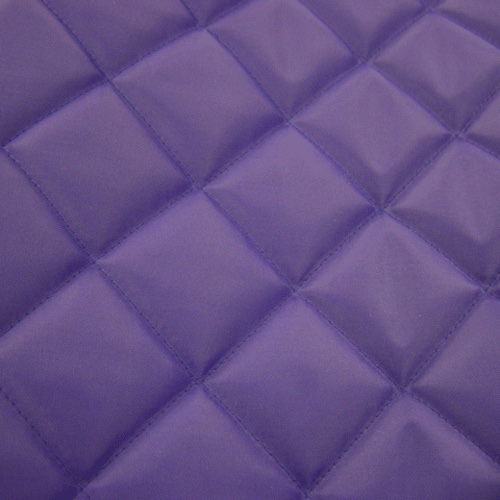 Purple Quilted Waterproof