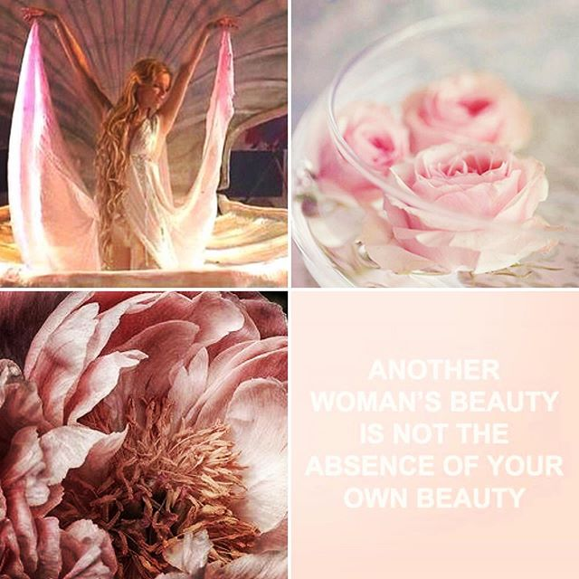 """In her effulgence Aphrodite reminds us there is more then enough! Sacred Feminine Energy is available for all of us to channel, give, receive, embody and celebrate. 🌸 Remember ... """"Another Woman's Beauty is Not the absence of your Beauty""""  www.aphroditemysterypath.com"""