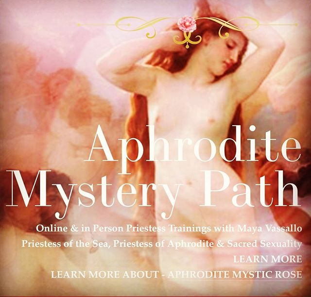 Receive our Free Monthly Aphrodite Gifts when you join my e-list via the Website. www.aphroditemysterypath.com 🌟🌹✨