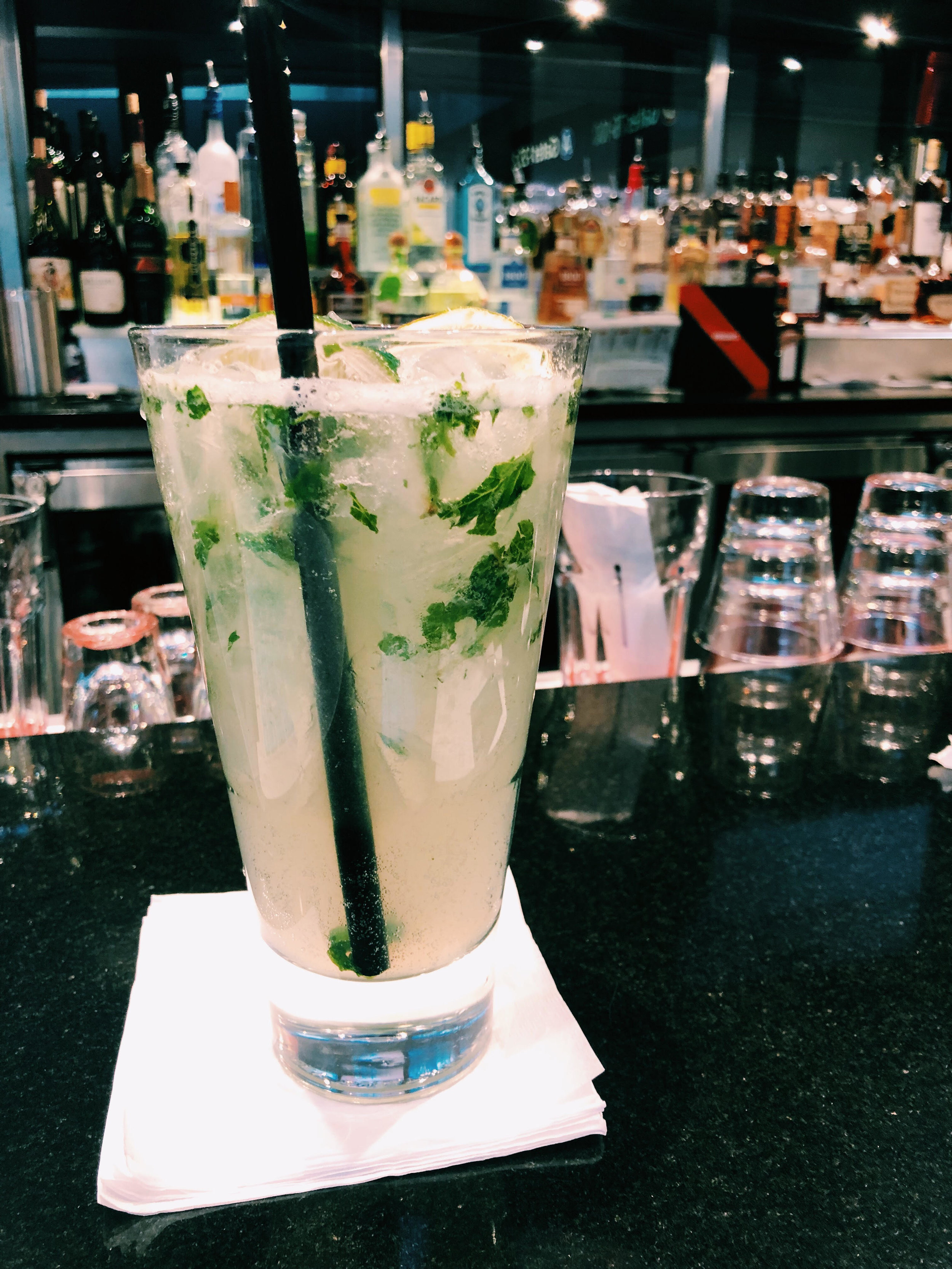 Classic Mojito also sweet! - Bold mintiness - lovin' that!