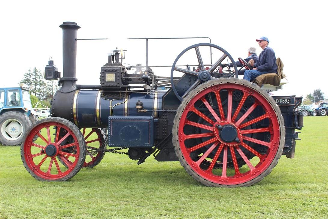 vintage machinery -