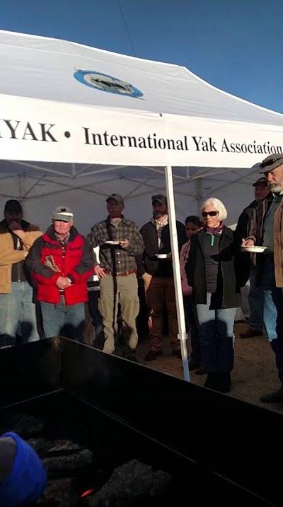 IYAK tent at IYAKs Winter Conference at NWSS
