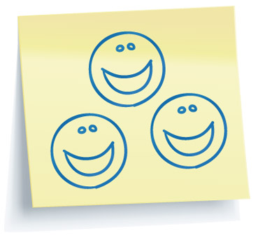 Three Smiling Faces Post It.jpg