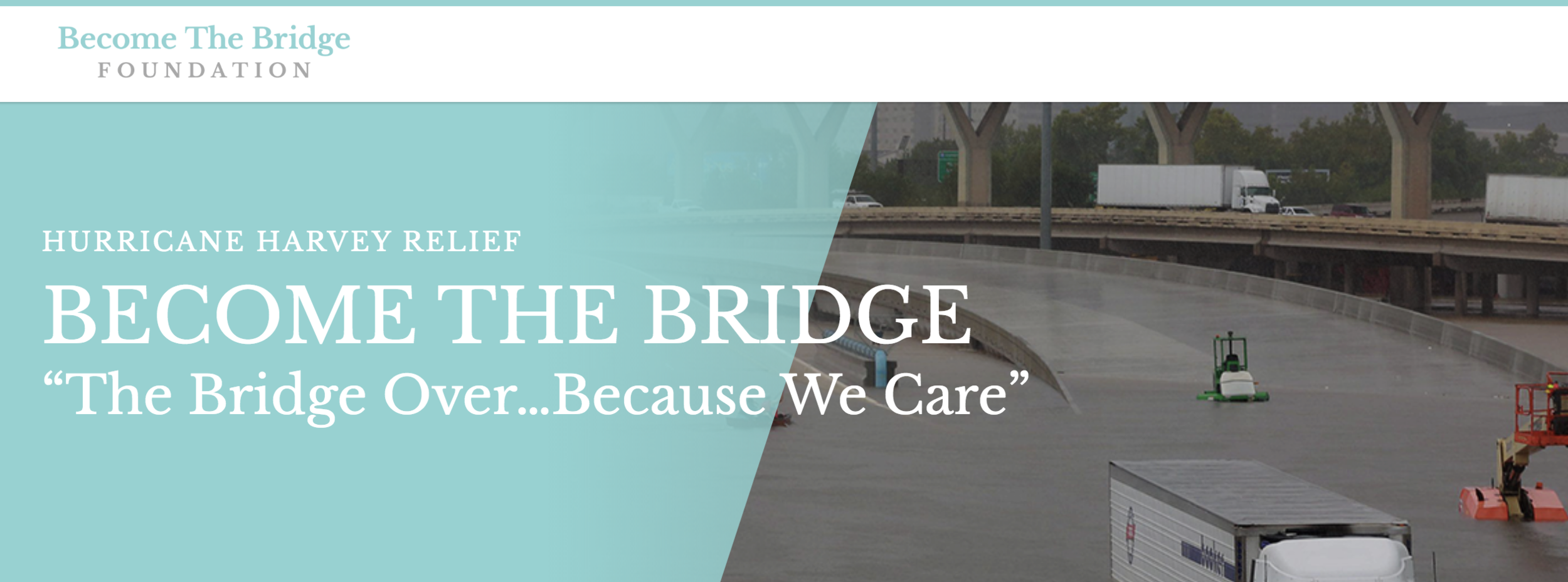 by BECOMing a BRIDGE - The city of Houston and surrounding regions was hit with a once-in-a-lifetime catastrophe. This is something no one has ever seen-and therefore could not be prepared for.The task of rebuilding seems overwhelming. It will take the coordinated efforts of multiple government, civic and religious institutions cooperating together for the common good of those who have been affected in order to bring about true rebuilding and healing.
