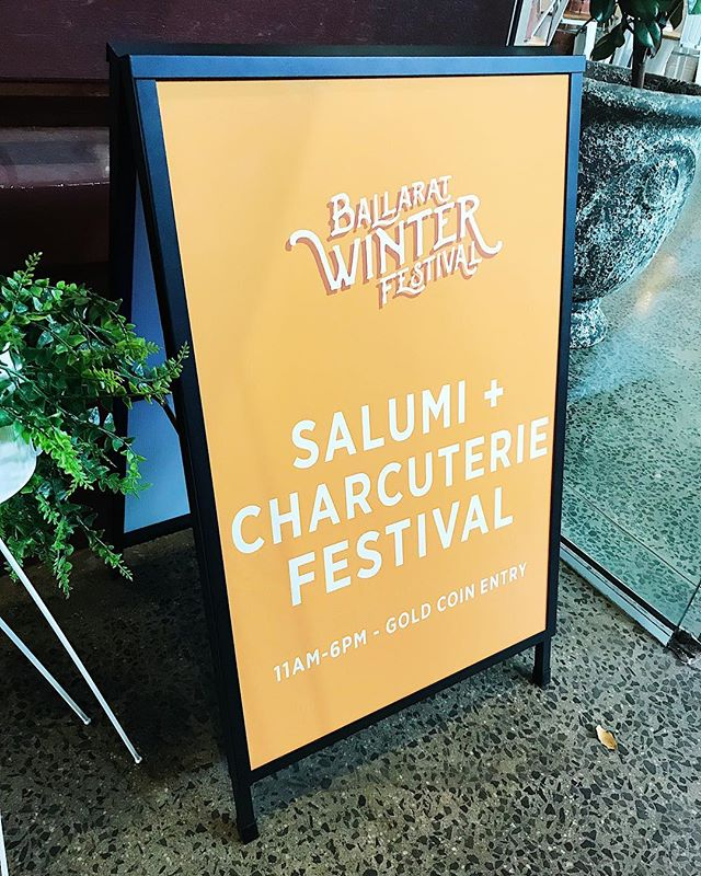 Cleaver is in Ballarat today! If you are in the area why not check out the @ballaratwinterfestival Salami and Charcuterie Festival