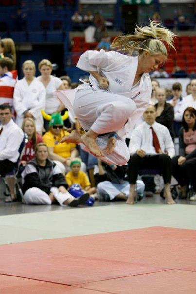 Hayley Carr- 9 times World Karate Champion - Leadership and Life Coach
