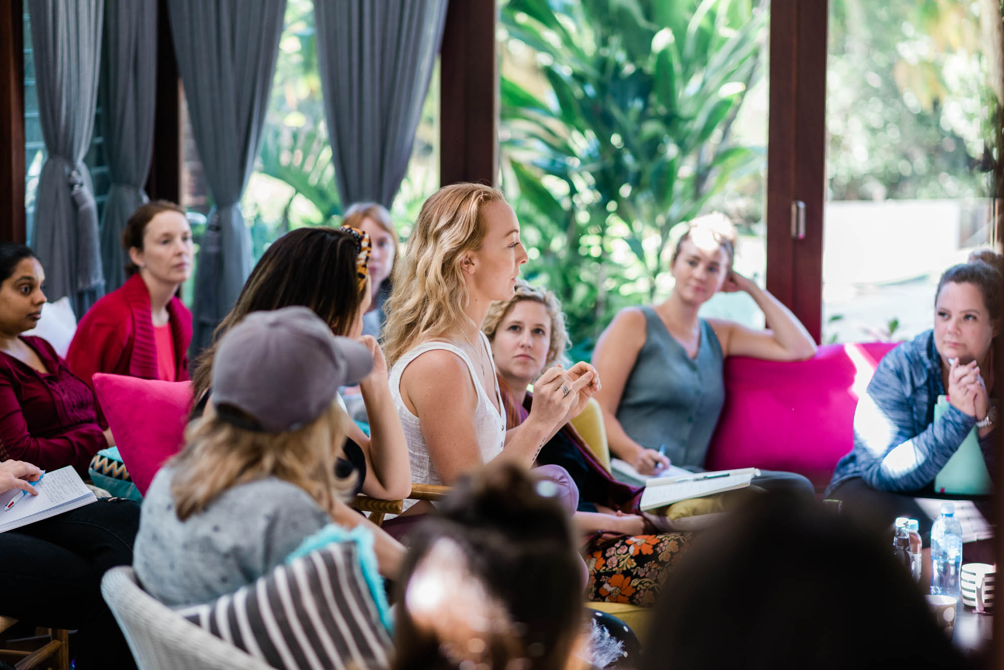 HayleyCarr.tv Play Bigger Feel Better Retreat 2019 - Beautiful location Byron Bay - Walk away with a year's worth of experiential coaching and corp of new team-mates