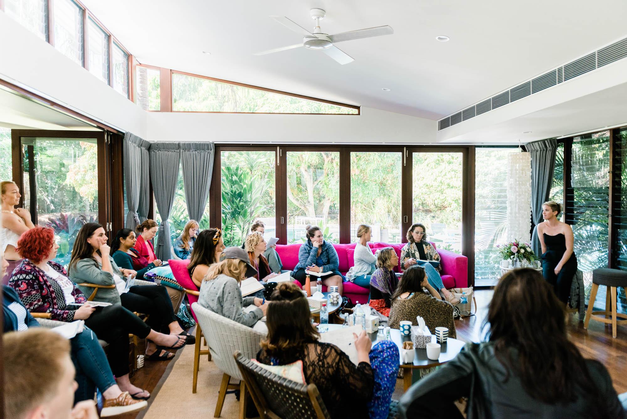 Hayley Carr's Play Bigger Feel Better Retreat Byron Bay Australia