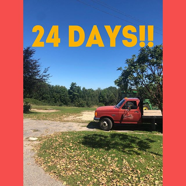 24 days until AppleCycle 2019 (link in bio)! If you haven't registered, help us make this event a success by signing up for this beautiful fall ride which will benefit our 100% free, low-barrier youth development programs. Funky Bow has been kind enough to host us, and Giles' Family Farm, Dole's Ridge, Uncle's Farm Stand, and Vandy's are hosting us as rest stops along this scenic route! Our sponsors include @mainebikeworks, @mainecoastroast, @joebornstein, @modernwoodmen1883, @oakpointassociates, @cafe64oob, @sbsavings, and more 🍎 Thank you for the support we've received thus far as our new team puts together the 2019 of this beloved event. . . . . . #dogood #mainenonprofits #maineride #fallride #maineevent #cyclingevent #cyclemaine #mainebike #roadcycling #bicycle #supportyouth #causes #fundraiser