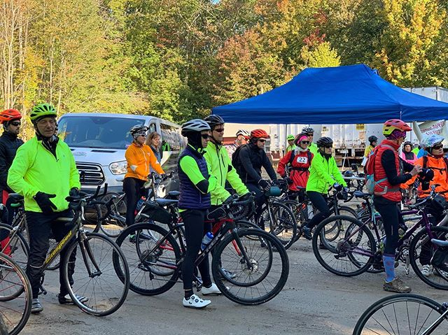 """🍏🍎🍏You'll have to excuse our delay in posting, our staff needed a little time to recuperate after the excitement of AppleCycle 2019!! 🍏 🍎 🍏 Thank you so much to all the riders that came out; this event was a huge success! It was wonderful to see so many familiar and new faces gathered together on this beautiful day to help us get kids """"out there."""" A heartfelt thank you goes out to all of our sponsors, rest-stops, and @mainebikeworks, our event mechanics, as well— we feel so fortunate to have such a giving community. We will see you next year!"""