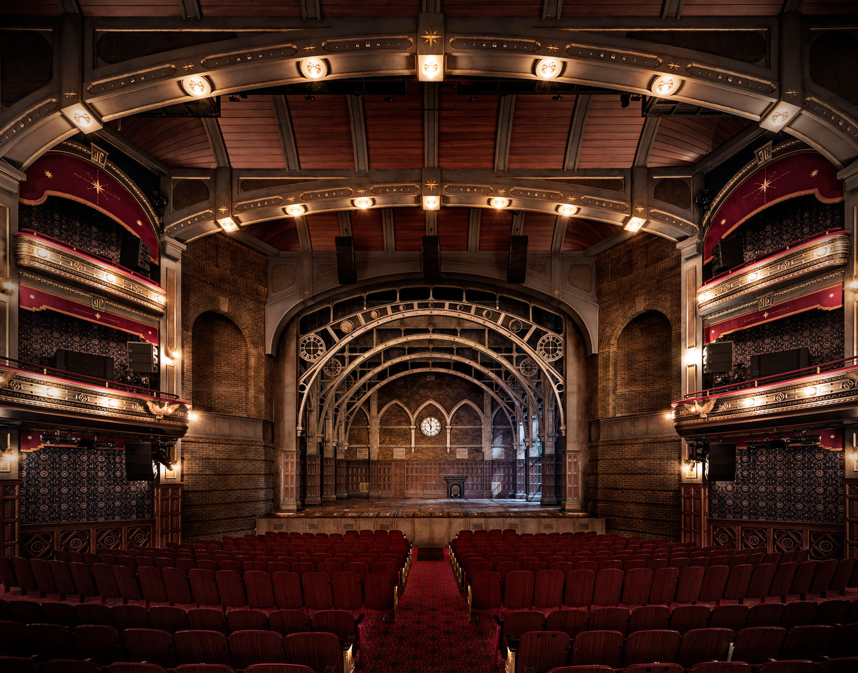 Fully restored interior of the Lyric Theatre today. Credit: The Lyric Theatre