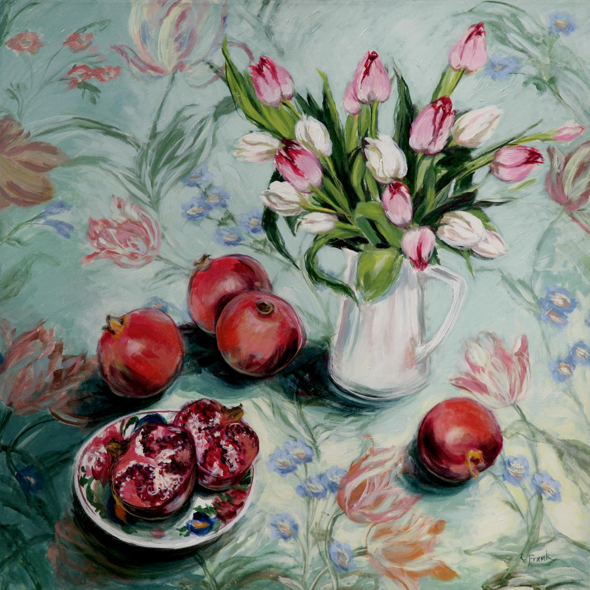 Tulips & Pomegranates