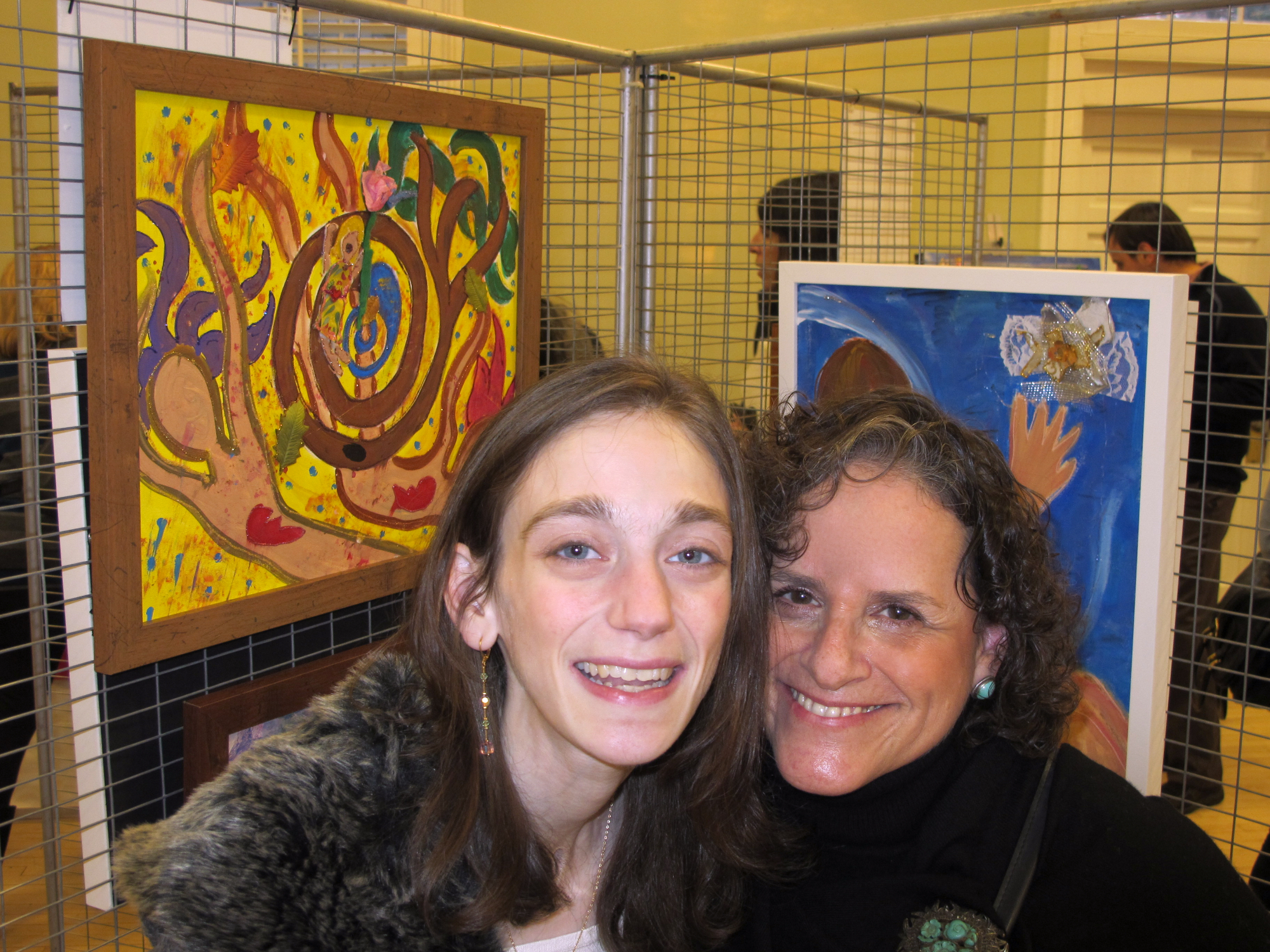 January 2011 - Leona planned and produced Amy Oestreicher's first solo art exhibition at The Westport Woman's Club.  Amy uses art as a creative means of coping with her serious ongoing medical issues.