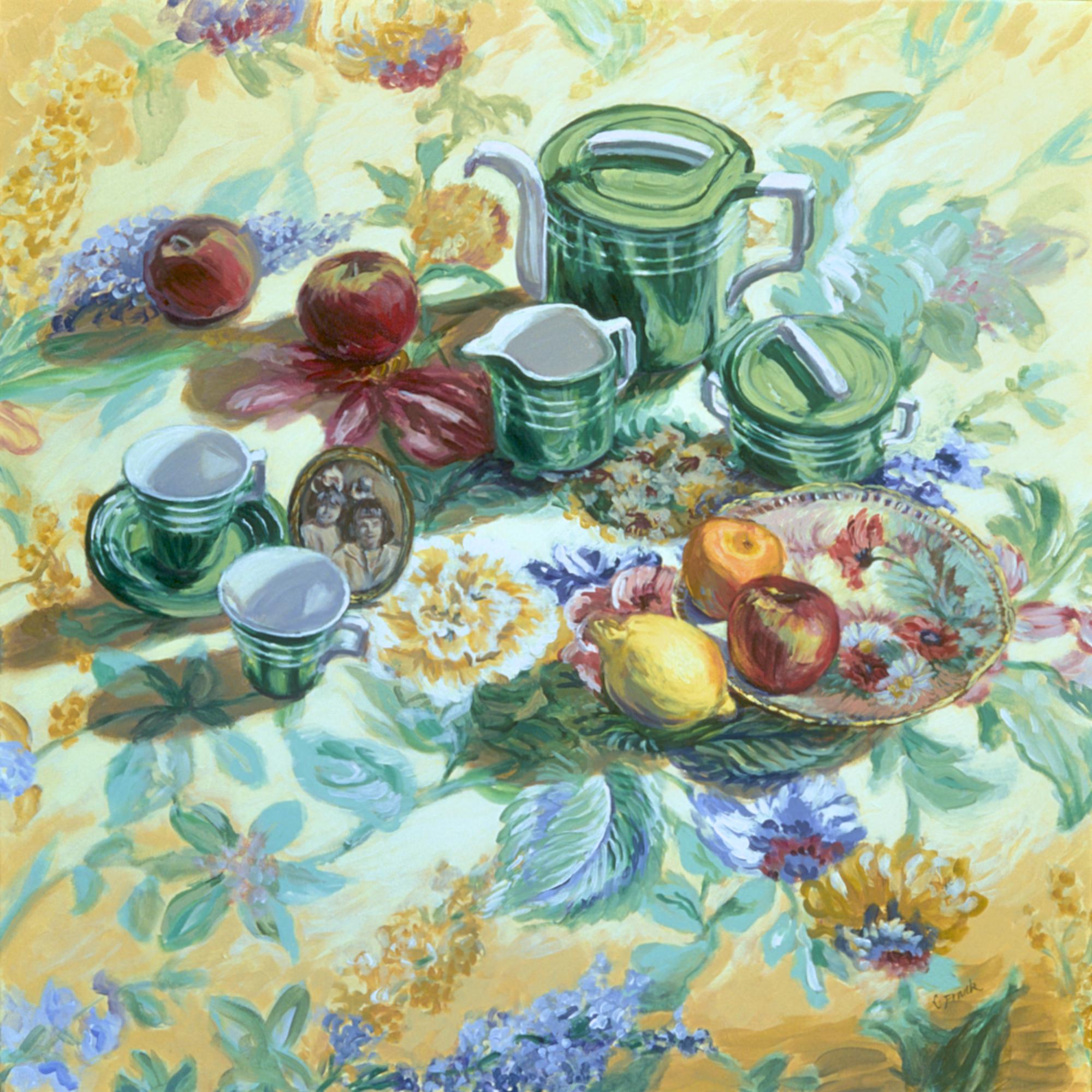 Aunt Leona's Tea Set