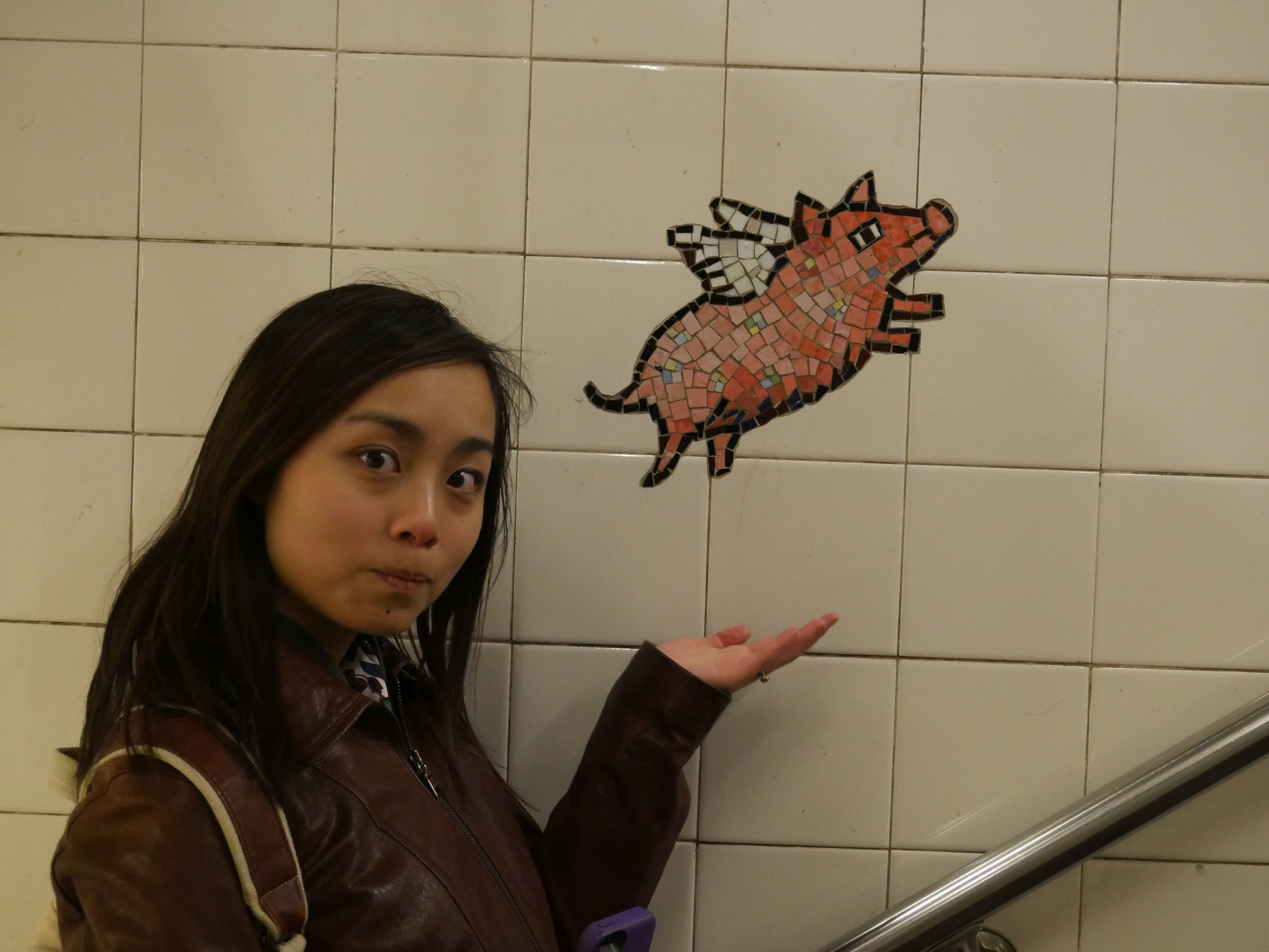 Willow and the Flying Subway Pig: my new children's book