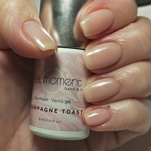 Sad to say, my thumb nail is broken too far up the bed to attempt a rebuild this week so it's back to au naturale with a double coat of 'Champagne Toast' while I regrow a few millimetres.  Still, you can't beat a classic.  #champagnetoast #gelmanicure #GelMoment #independentdistributor #vegan  #crueltyfree #healthynailsarethebestnails #ditchthesalon #gelmomentfamily #leadfree #latexfree #veganbeautyproducts #vegannails #diynails