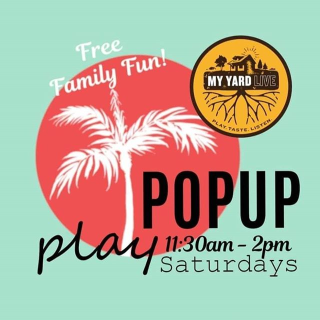 Join me at @myyardlive Saturday Aug 17th for PopUp Play Saturdays!  I am sponsoring a community art project!  We are making a Mosaic Mural together for adult and kids to enjoy together between 11:30am-2pm.  We can't wait to play and it's always free!  Come find out which famous artist will inspire us! 🌃 🎨 . .