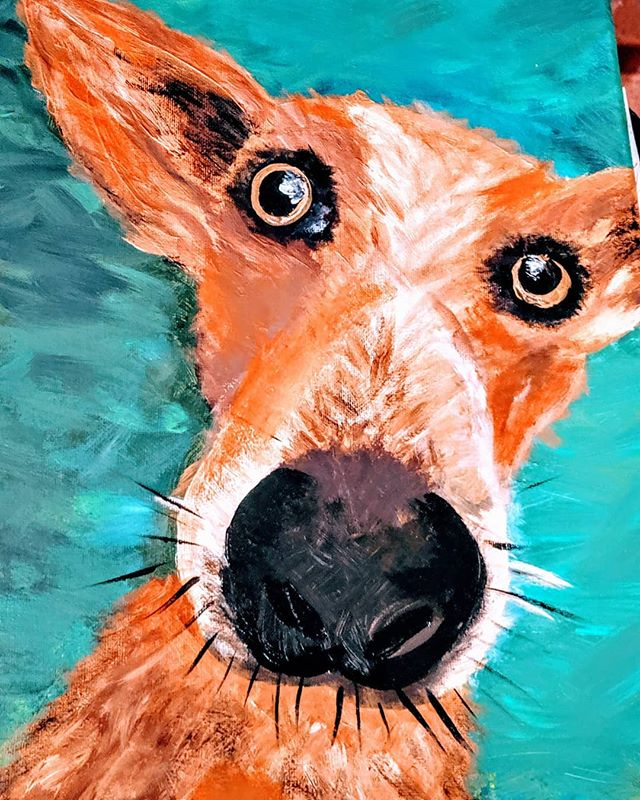 Check out these amazing Paint Your Pet masterpieces.  So proud of everyone.  I really feel like each portrait captured their personalities.  We painted dogs, cats, lizards, fish and bunnies!  Join us next time Thursday 9/5 or Tuesday 9/17 @latitude33brew.  You can get tickets on my website or through Eventbrite! $35 each.