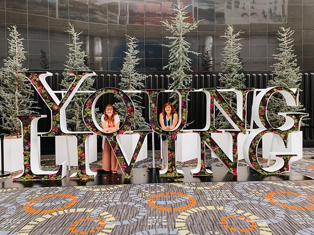 Go big or go home!  Young Living sure knows how to spoil their members!  Check out my stories and upcoming posts for alllll the new products!  #cbd #essentialoils  Who else is here?!? #ylconvention
