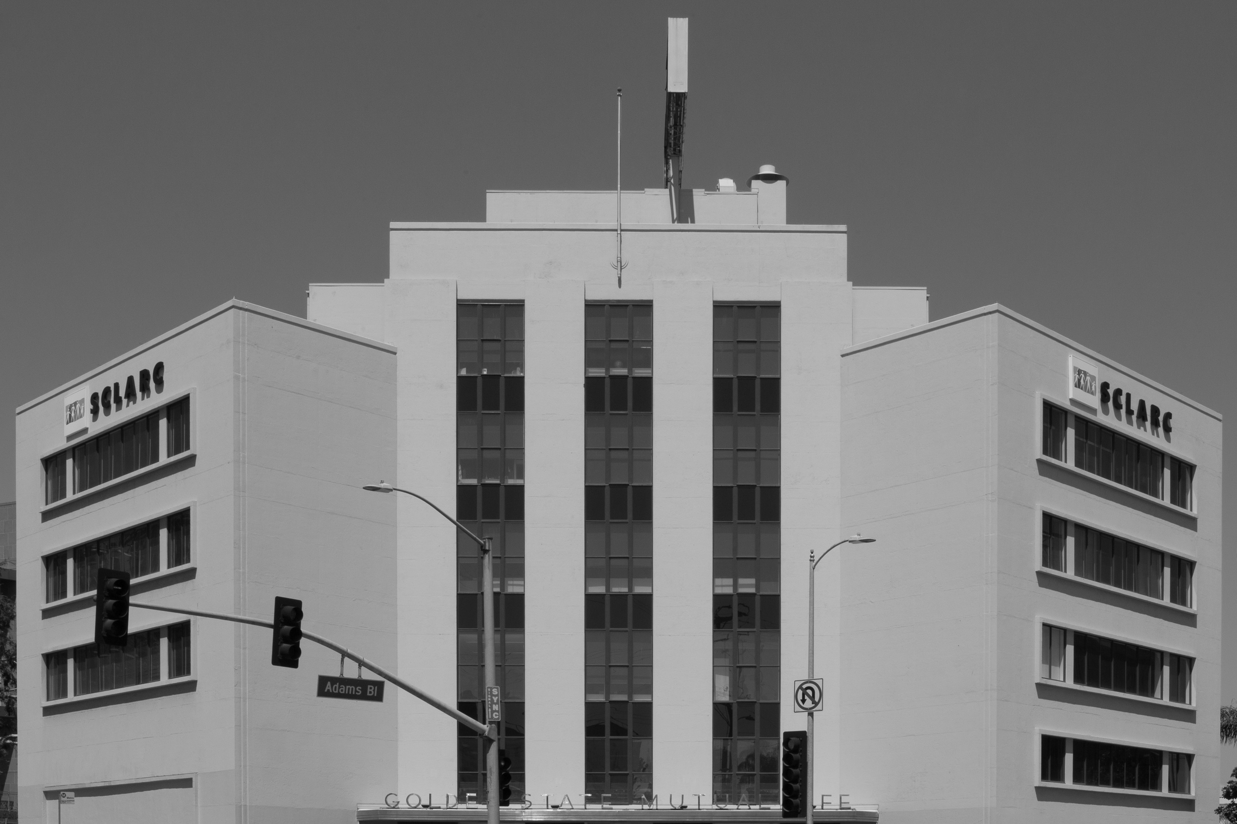 From the Golden State Mutual Life Insurance Company building, Los Angeles, California
