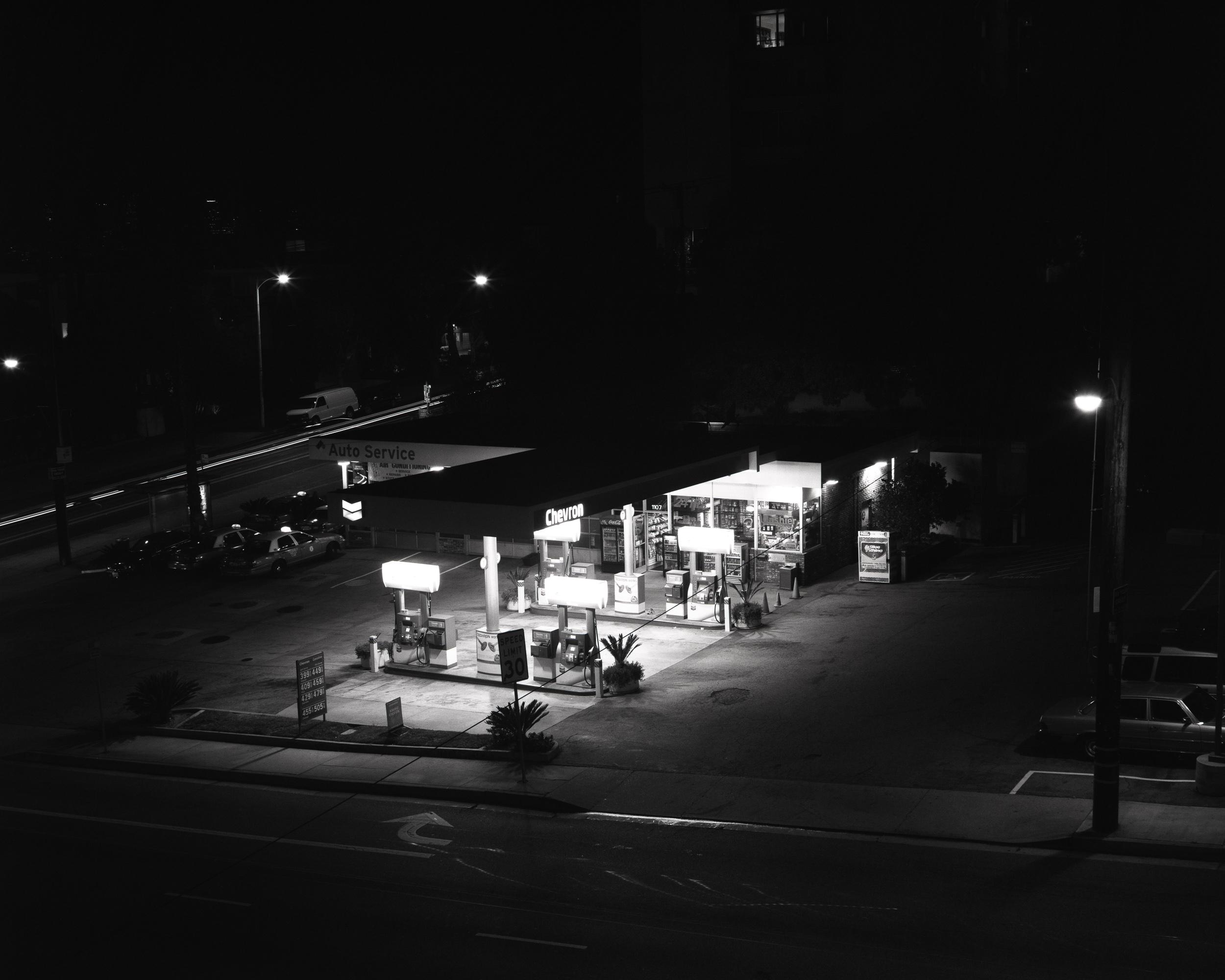 La Cienega Boulevard Chevron Station