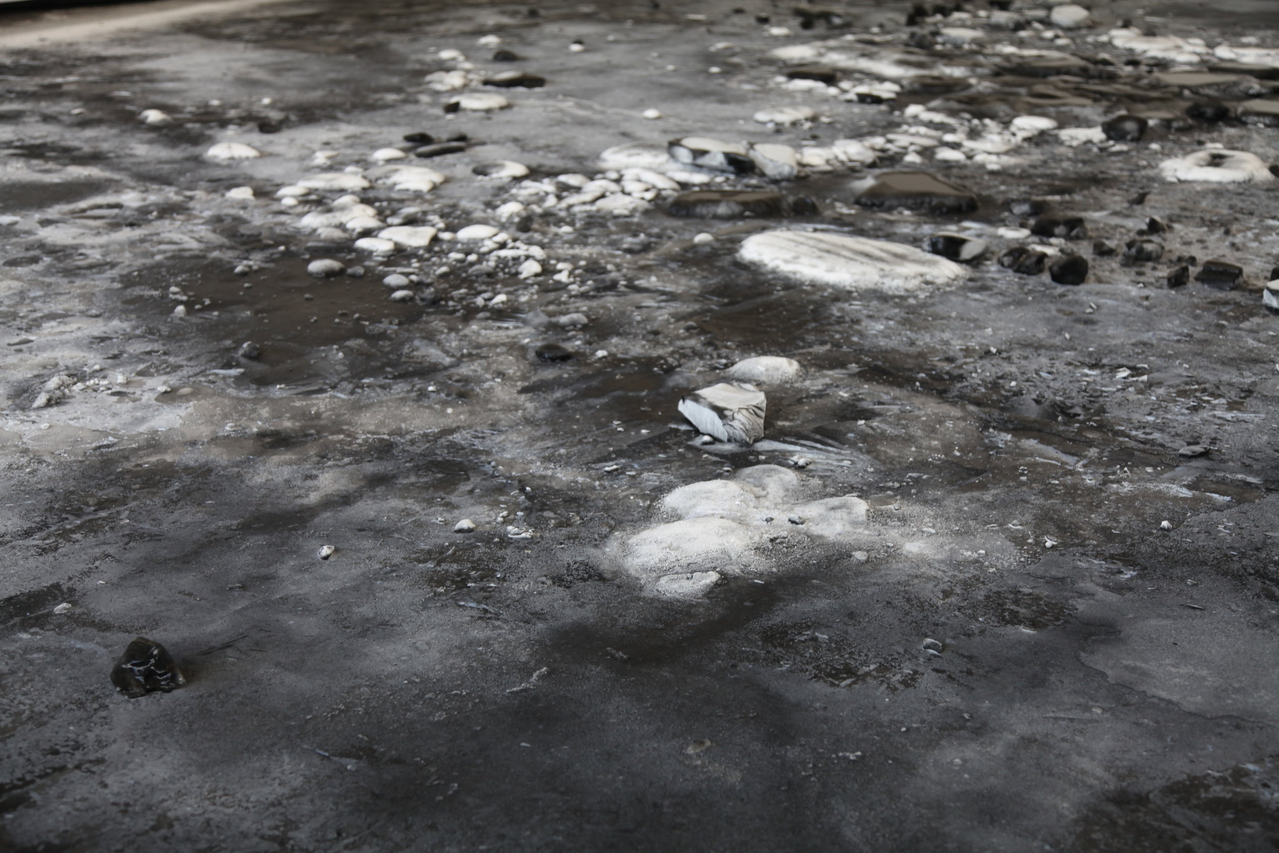 Detail, L_Expedition scintillante, Acte 3 (Black Ice Rink), 2002.JPG