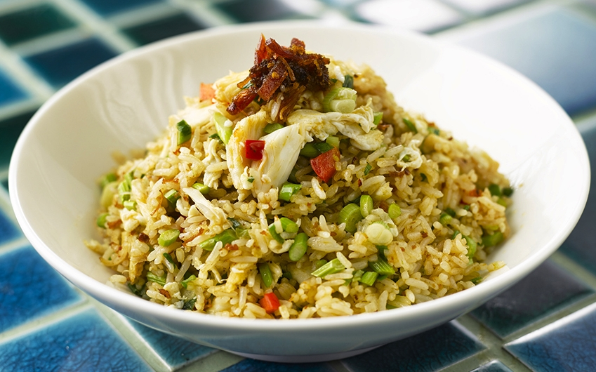 Crab Meat Fried Rice with Egg White in Xo Sauce.jpg