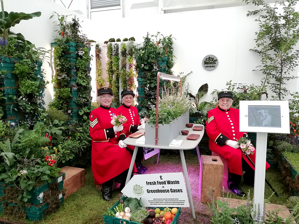 RHS chelsea flower show - Our work on the RHS Chelsea Flower Show 2019 was awarded a Silver Medal.
