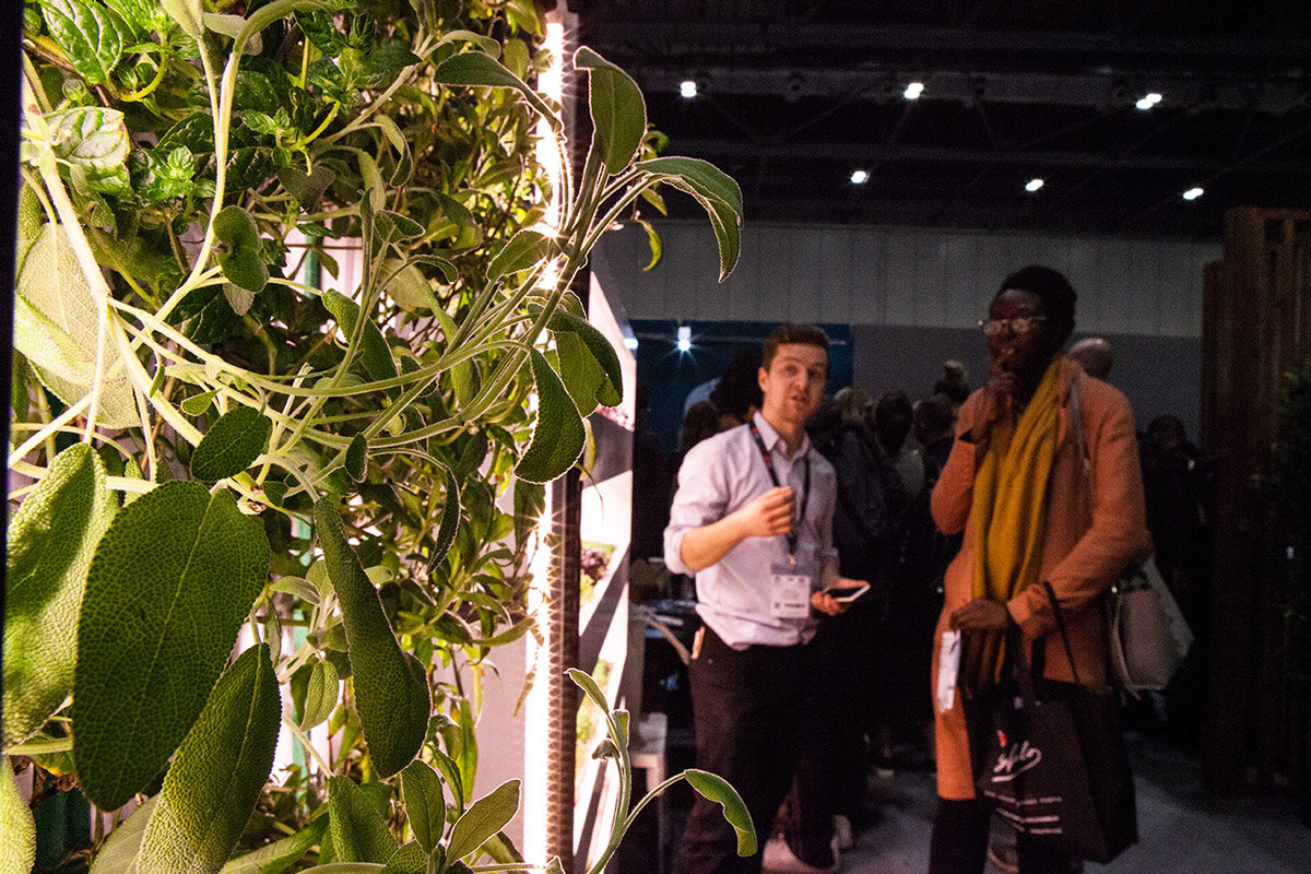 CORPORATE EVENTS - We can bring the latest vertical farming technologies to your event or host groups in immersive experiences in our central London laboratory for growing.