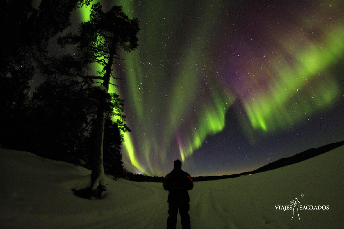 auroras boreales lugar mágico