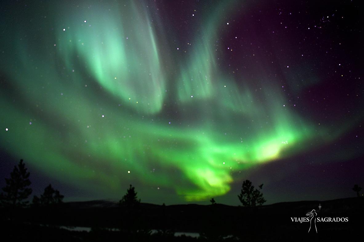 aurora boreal viajes sagrados