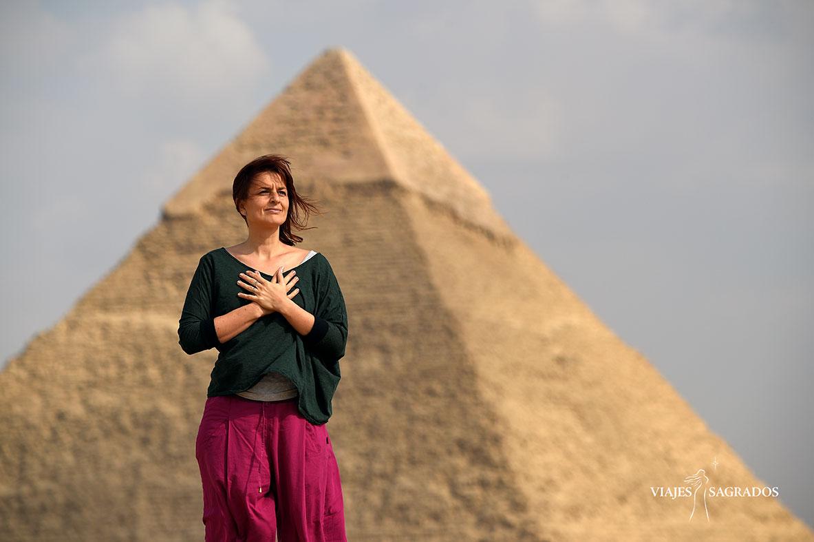 Susana Ortega Egipto pirámide