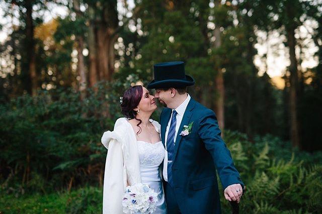 Prue and Jeremy sharing the last glow of sunset on their perfect wedding day..... #marybrookemanor #marybrookemanorweddings