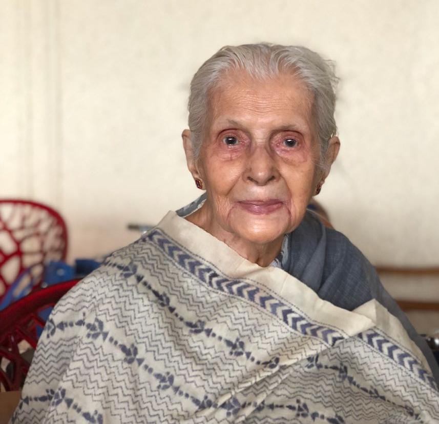 Latika Chakrabarty, Handbag Designer at the age of 89.