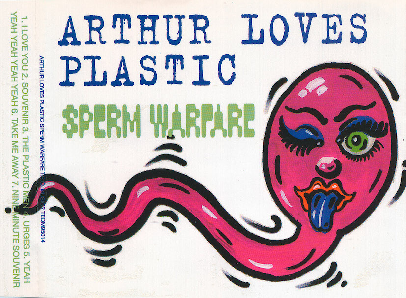 arthur loves plastic : sperm warfare [teqm95014]